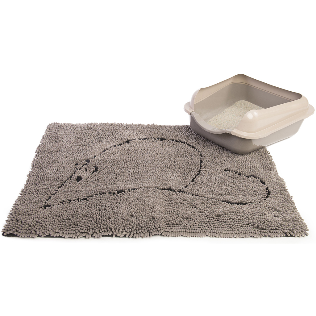 Dirty Cat Littermat Gray 35x26 Quot Anipet Animal Supplies